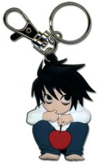 Chibi Rubber Key Ring (Death Note L)