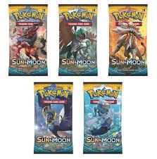 Sun & Moon Booster Packs