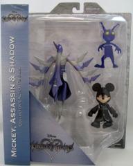 Kingdom Hearts - Mickey Assassin and Shadow