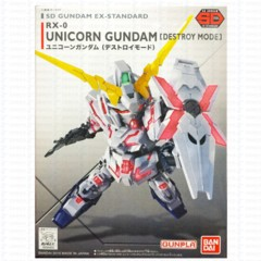 SD RX-0 Unicorn - Destroy Mode - Ex-Standard (Gundam)