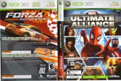 Marvel - Ultimate Alliance + Forza Motorsport 2 (Xbox 360)