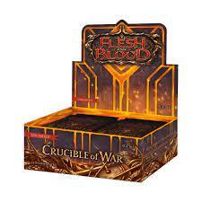 Flesh and Blood - Crucible of War Booster Box - Unlimited Edition