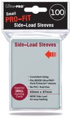 Ultra Pro - 100 ct PRO-Fit Small Side Load Deck Protectors