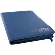 XenoSkin Blue 9-Pocket ZipFolio Binder (Ultimate Guard)