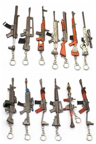 Fornite Weapon Key Chain