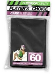 Player's Choice (Black) - Standard Sleeves - 60ct