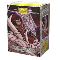 Art Matte Sleeves - Lane Thunderhoof - Standard Box Sleeves - 100ct