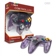 Cirka Atomic Purple N64 Controller
