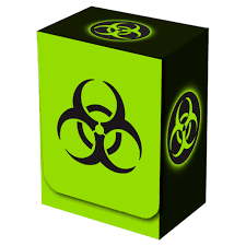 Deck Box - Bio Hazard V2 (Legion)