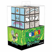 Rubiks Cube - Rick & Morty