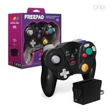 Gamecube - Freepad Wireless Controller - Black