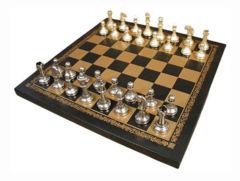 Chess Set - 2.5in K Metal Staunton
