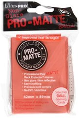 Ultra Pro PRO-Matte Small Sleeves - Peach (60ct)