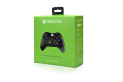 Xbox One Controller (Black) - Factory Refurbished