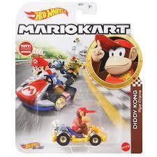 Hot Wheels - Mario Kart - Diddy Kong