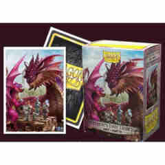 Art Matte Sleeves - Fathers Day Dragon - Standard Box Sleeves - 100ct