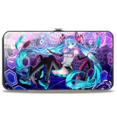 Hinged Wallet - Hatsune Miku - Sitting