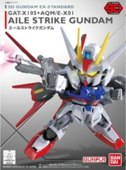 Aile Strike GAT-X 105 +AQM/E-X01 EX-Standard (SD Gundam)