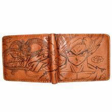 Bi Fold Wallet - Dragon Ball - Goku - Brown