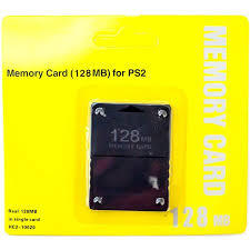 Old Skool Ps2 Memory Card - 128mb