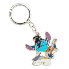 Loungefly x Disney Lilo and Stitch - Stitch Elvis Enamel Key Chain