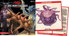 Dungeons and Dragons 5th Edition RPG: Spellbook Cards - Epic Monster Cards