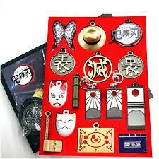 Demon Slayer - Necklace & Keychain Set - 14 Piece