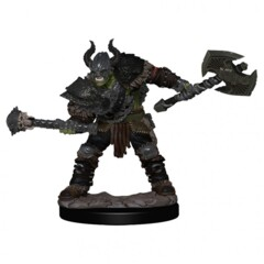 Pathfinder Battles - Premium Miniatures - Half-Orc Male Barbarian