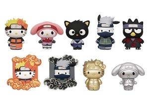 Naruto Shippuden X Hello Kitty and Friends: Figural Bag Clip