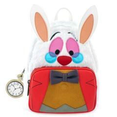 Loungefly Disney Alice In Wonderland White Rabbit Mini Backpack