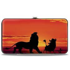Hinged Wallet - Lion King - Hakuna Matata
