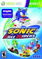 Sonic - Free Riders - Kinect (Xbox 360)
