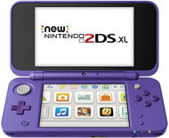 Nintendo New 2DS XL Purple and Silver