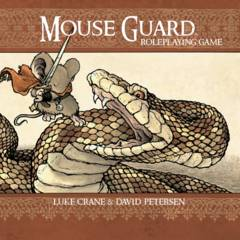 Mouse Guard Roleplaying Game HC (2nd edition)