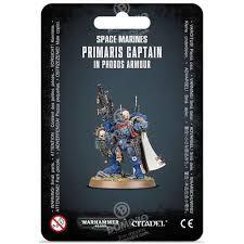 Space Marines - Primaris Captain in Phobos Armour
