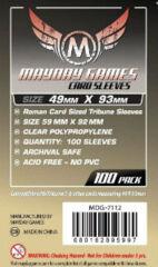Roman Card Sleeves - 49mm X 93mm