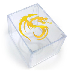Dragon - Clear 2 Piece Deck Box (BCW)