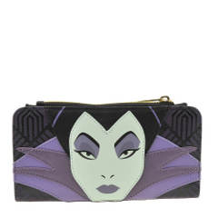 Loungefly Maleficent Top Zip Wallet