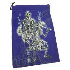 Dice Bag - Skeletons