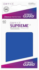 Ultimate Guard 60 Supreme Sleeves Small UX Blue
