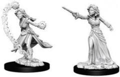 D&D Unpainted Minis - Female Human Wizard