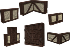 Warlock Tiles - Town and Village 1