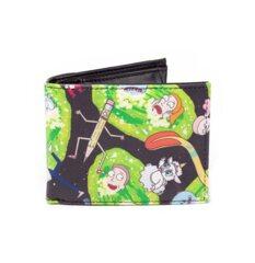 Rick and Morty Characters Bi Fold wallet