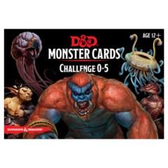 Spellbook Cards - Monster Cards 0-5