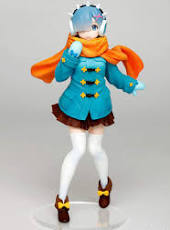 Re: Zero Starting Life in Another World - Precious Figure Winter Coat - Rem