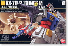 HG Gundam Model Kit - RX-78-2