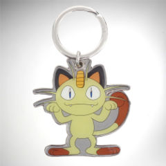 Pokemon: Meowth Metal Keychain (Pokemon)