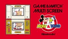 Game & Watch Multi-Screen Mickey & Donald