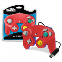 Old Skool Red/Blue - Gamecube Controller