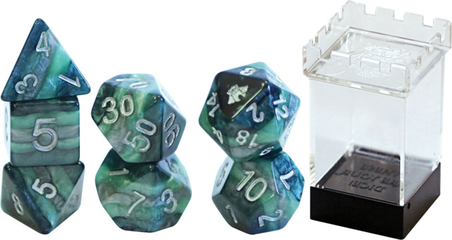 Gate Keeper Dice - Reality Shards - Might - 7 Dice Set
